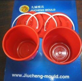 塑料家用水桶模具 台州黄岩