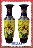高档陶瓷大花瓶 青花落地大花瓶 陶瓷箭筒