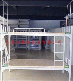双层铁床,宿舍方管双层床,东莞铁床厂家直销