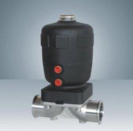卫生级隔膜阀 快装不锈钢 温度180度