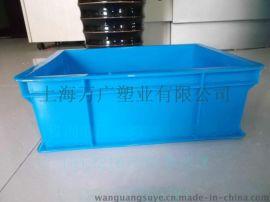 直销 380系列塑料周转箱带盖 加厚全新料收纳箱 塑料箱特价