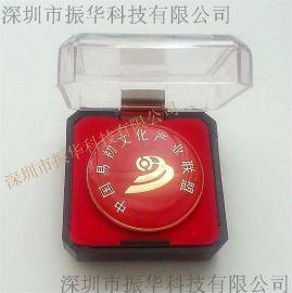 定製三維立體仿琺琅金屬紀念章 企業徽章 印刷胸章