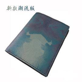 男士竖款钱包 上海皮具厂专业定制FL51