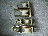 10kv線路放線滑輪 座掛式放線滑輪 電力放線滑車 座鉤式放線滑子 尼龍輪/鋁輪