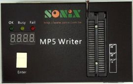 SONIX松翰单片机开发工具,MP5 WRITER SONIX 2系列OTP及FLASH烧录器,原装正品供应
