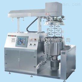 {厂家直销} GOODYM   触摸屏真空乳化搅拌机、下均质循环乳化机、升降混合机、实验室乳化机