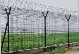 高安全刀片刺绳机场护栏网防护网