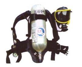碳纤维6.8升正压式空气呼吸器,消防员空气呼吸器