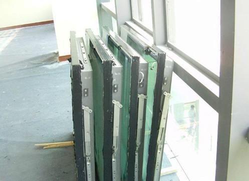 外墙玻璃改平开窗