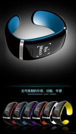 蓝牙手镯智能手表 苹果三星安卓手机免提通话腕带手环 运动计步器