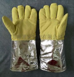 耐高温手套500度 手背抗1000度隔热手套