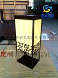 戶外房地產酒店非標定製仿雲石工程柱頭燈別墅矮柱燈庭院門柱燈
