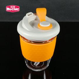 MoChic摩西咖啡杯 高硼硅玻璃密封防漏咖啡杯
