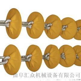 无粉尘管链上料机专业生产 粉体料管链机
