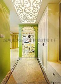 广东雕刻厂家定制家居板轻质隔墙板隔断板雕刻镂空板