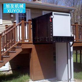 残疾人升降平台无障碍升降机小型别墅电梯电动液压平台