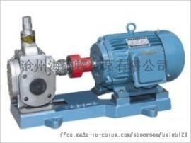 厂家生产高效率齿轮泵,YCB不锈钢圆弧齿轮泵