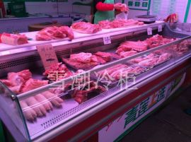 上海雪弗尔直冷双门鲜肉柜定做各式冷柜