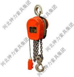 吊钩型环链电动葫芦生产厂家-河北神力集团