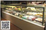 吧檯甜品保鮮展示櫃,日式直角蛋糕櫃定做,蛋糕房西點慕斯冷藏