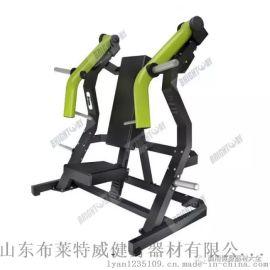 昭通健身房运动器材商用室内健身器材坐式上斜推胸训练器