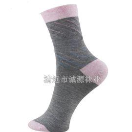 广东针织厂纯棉休闲男袜皮鞋袜