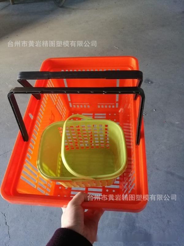 国外超市购物篮模具 新型购物车模具 淘米篮子模具
