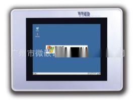 5.6寸工业电阻式触摸屏 IP65嵌入式无风扇工控一体机专业批发定制