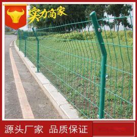 厂家直销护栏网 双边丝围栏网 铁丝护栏网 养殖用铁网围栏