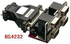 RS-232一对四光电隔离器BS4232(一个232口与四个232口的光电隔离 无须供电)
