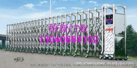 供應不鏽鋼電動伸縮門