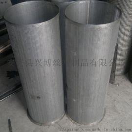 不锈钢圆孔过滤桶高效河北安平兴博丝网定制加工