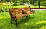 加工定制长凳公园休闲椅实木户外休息椅景观座椅