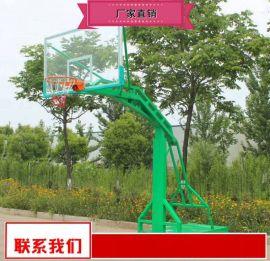 小区篮球架制作厂家 户外可移动球架供货商