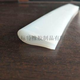 河北u型透明硅胶密封条生产厂家