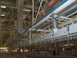 中瑞彩钢复合风管(涂层铝箔)