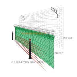 监狱周界预警红外幕墙探测器