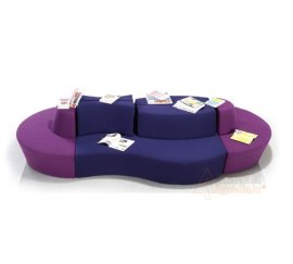 大堂沙发/休闲接待沙发/大厅沙发