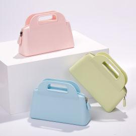 手提式硅胶钱包 手机包 化妆包 钥匙包厂家供应