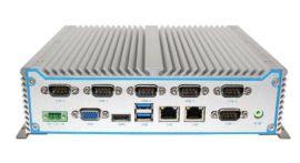 八维工控机 2网口GPIO嵌入式车载工业电脑