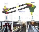 管狀皮帶機更大的傾斜輸送能力 品質好