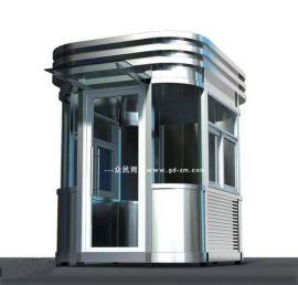 廠家直銷鋼結構保安亭不鏽鋼材質
