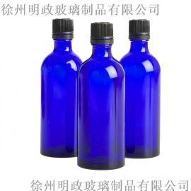 **玻璃瓶,透明的玻璃瓶,化学玻璃瓶