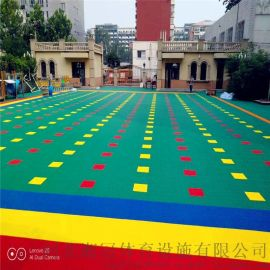孝感市大触面拼装地板幼儿园气垫悬浮地板