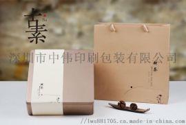 皮绳蝴蝶结礼物盒 商务礼品纸盒套盒三件套盒单盒礼物