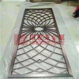 304不锈钢屏风隔断 中式佛山厂家来图定制隔断花格