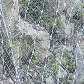 钢丝格栅网.边坡挂网. 钢丝边坡防护网.高边坡防护