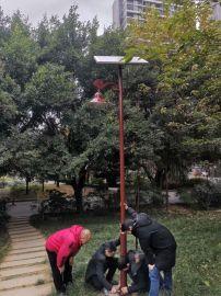 公园广场景区LED太阳能路灯庭院灯