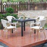 馨宁居户外家具 休闲餐椅欧式时尚简约餐厅咖啡厅桌椅