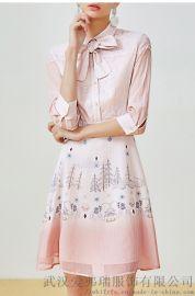 【代销货源】服装拿货在哪里拿帝伦奴那手工蝴蝶裙